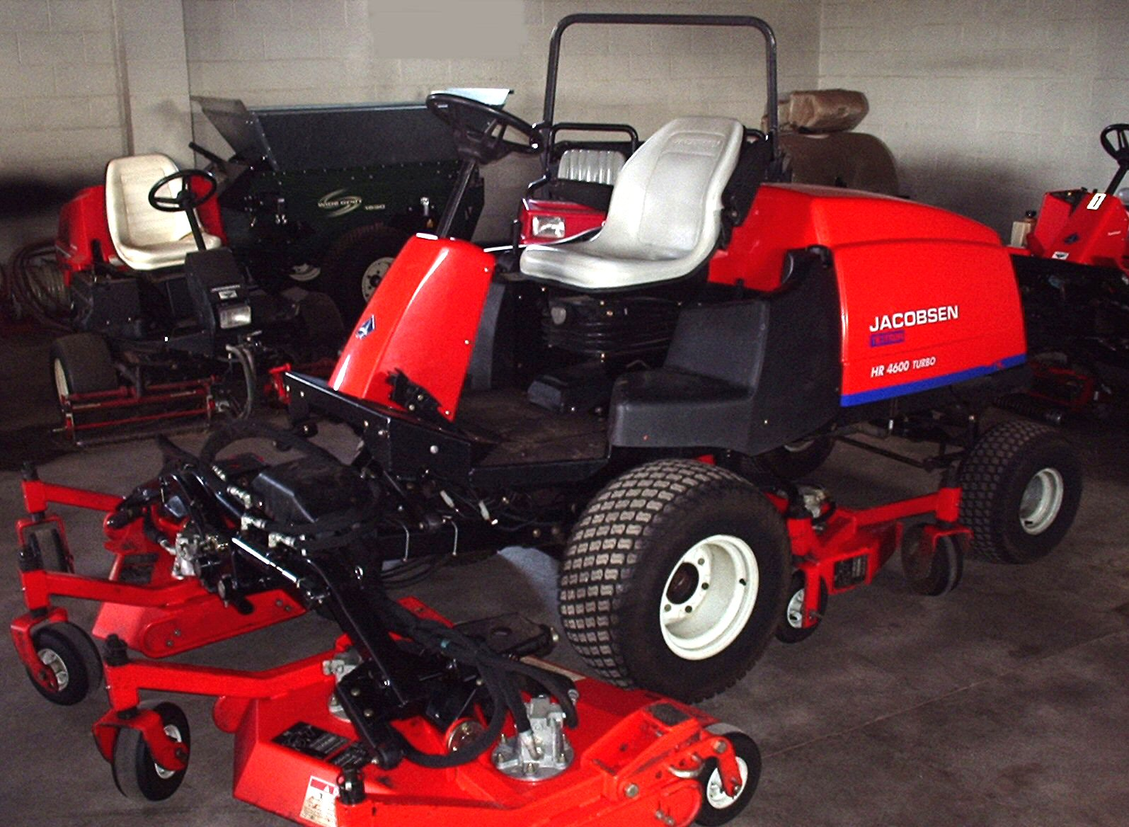 Sanford Alderfer Auction Company Golf Course Turf Equipment Jacobsen Cart Wiring Diagram Gallery Of Photos